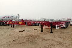 中集华骏48英尺系列集装箱式半挂车图片