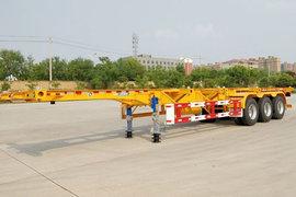 大运挂车40英尺系列集装箱式半挂车图片