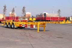 大运挂车45英尺系列集装箱式半挂车图片