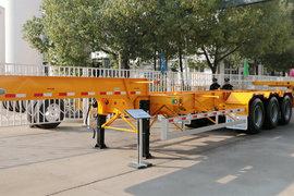 中集华骏20英尺系列集装箱式半挂车图片