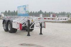 阳谷飞轮8米系列集装箱式半挂车图片
