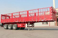 大运挂车13米系列仓栅式半挂车图片