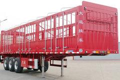 大运挂车11.5米系列仓栅式半挂车图片