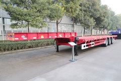 中集华骏13.75米系列平板式半挂车图片