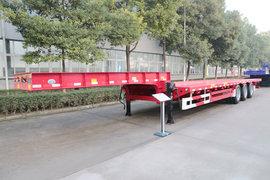 中集华骏13.75米系列低平板半挂车图片