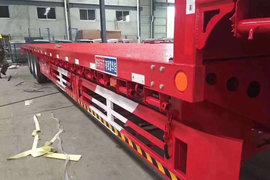 富华挂车13-17米系列低平板半挂车图片