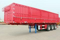 大运挂车11米系列自卸式半挂车图片