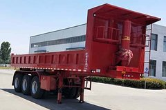 锣响挂车9.3米系列自卸式半挂车图片