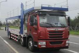 青岛解放悍V中置轴车辆运输车图片