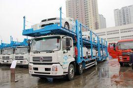 中集(中集牌)东风商用车底盘中置轴车辆运输车图片