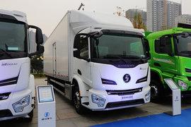 陕汽重卡德龙M6000中置轴车辆运输车图片