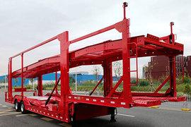 中集(中集牌)13.75米系列车辆运输半挂车图片