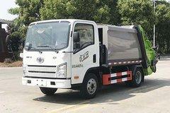 湖北帝成(帝王环卫牌)一汽解放轻卡底盘垃圾运输车图片