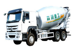 森源重工中国重汽底盘混凝土搅拌车