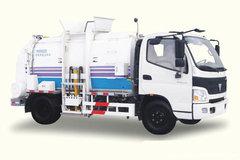 烟台海德(海德牌)福田欧马可底盘垃圾运输车图片