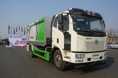 唐山亚特(亚特重工牌)一汽解放底盘垃圾运输车图片