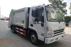 湖北同威(专威牌)现代商用车(原四川现代)底盘垃圾运输车图片