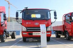 青岛重工(青专牌)一汽解放轻卡底盘垃圾运输车图片