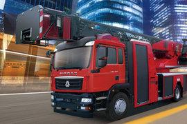 重汽汕德卡SITRAK C5H 消防车图片