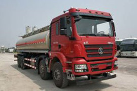 陕汽重卡德龙新M3000液体运输车图片
